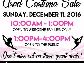 Used Costume Sale!