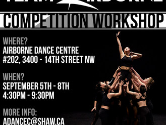 Competition Workshop!
