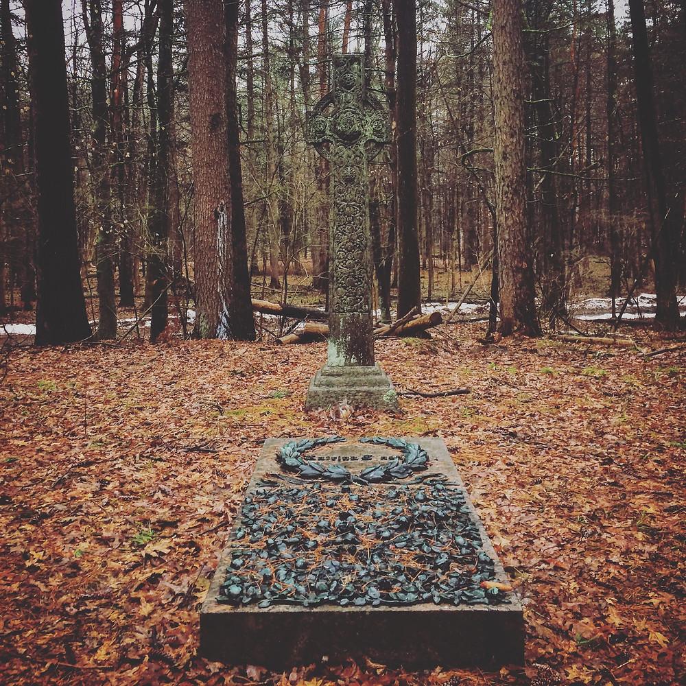 katrina's grave Yaddo