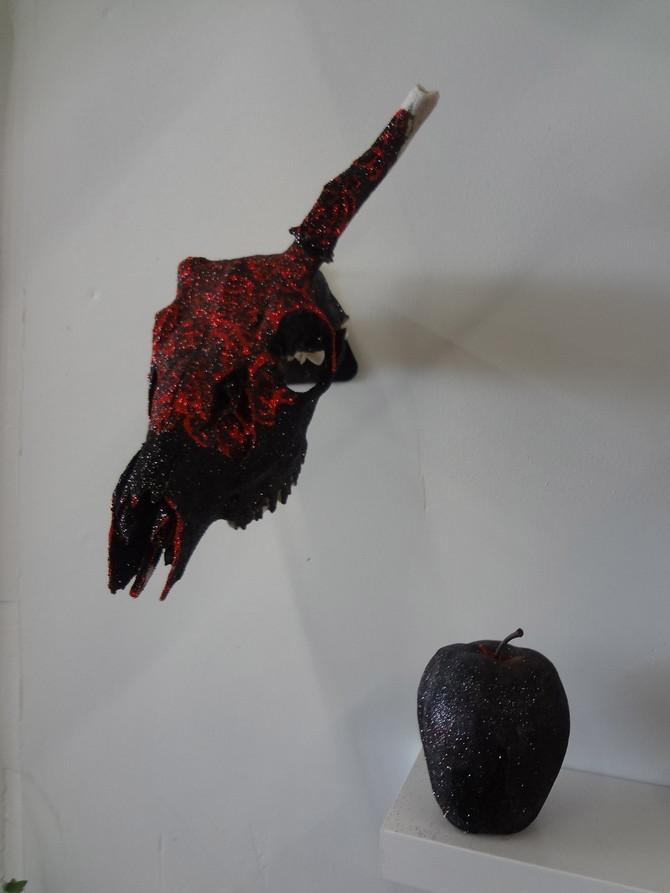 Skulls, Fruit, and Flowers