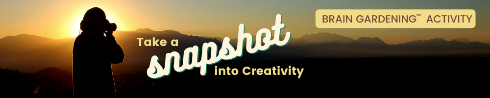 Take a Snapshot into Creativity