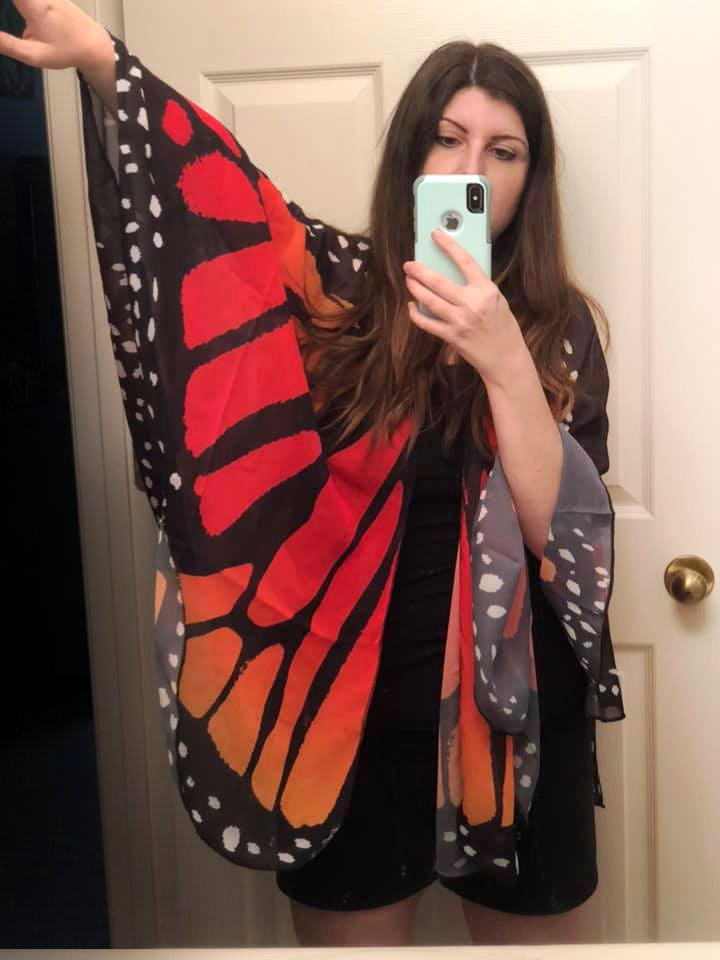 Alina as a Butterfly