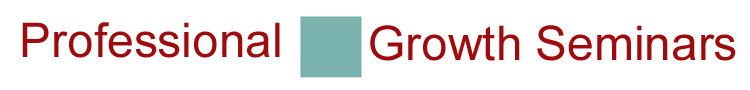 Professional Growth Seminars provides occupational therapy, education, child development and other workshops