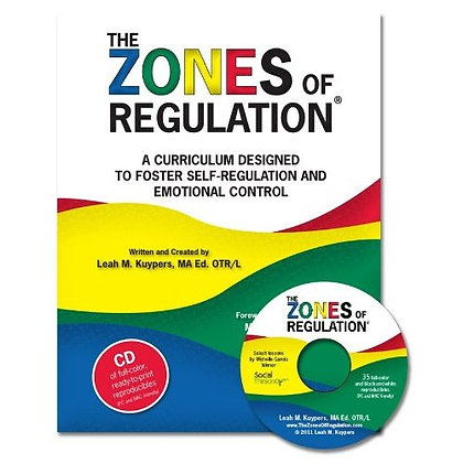 Zones of Regulation book/cd