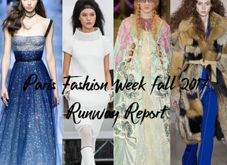 PFW Fall 2017 Runway Report