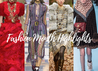 Fashion Month Highlights