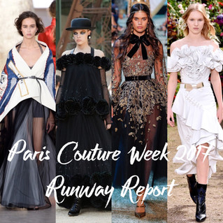Paris Couture Week 2017