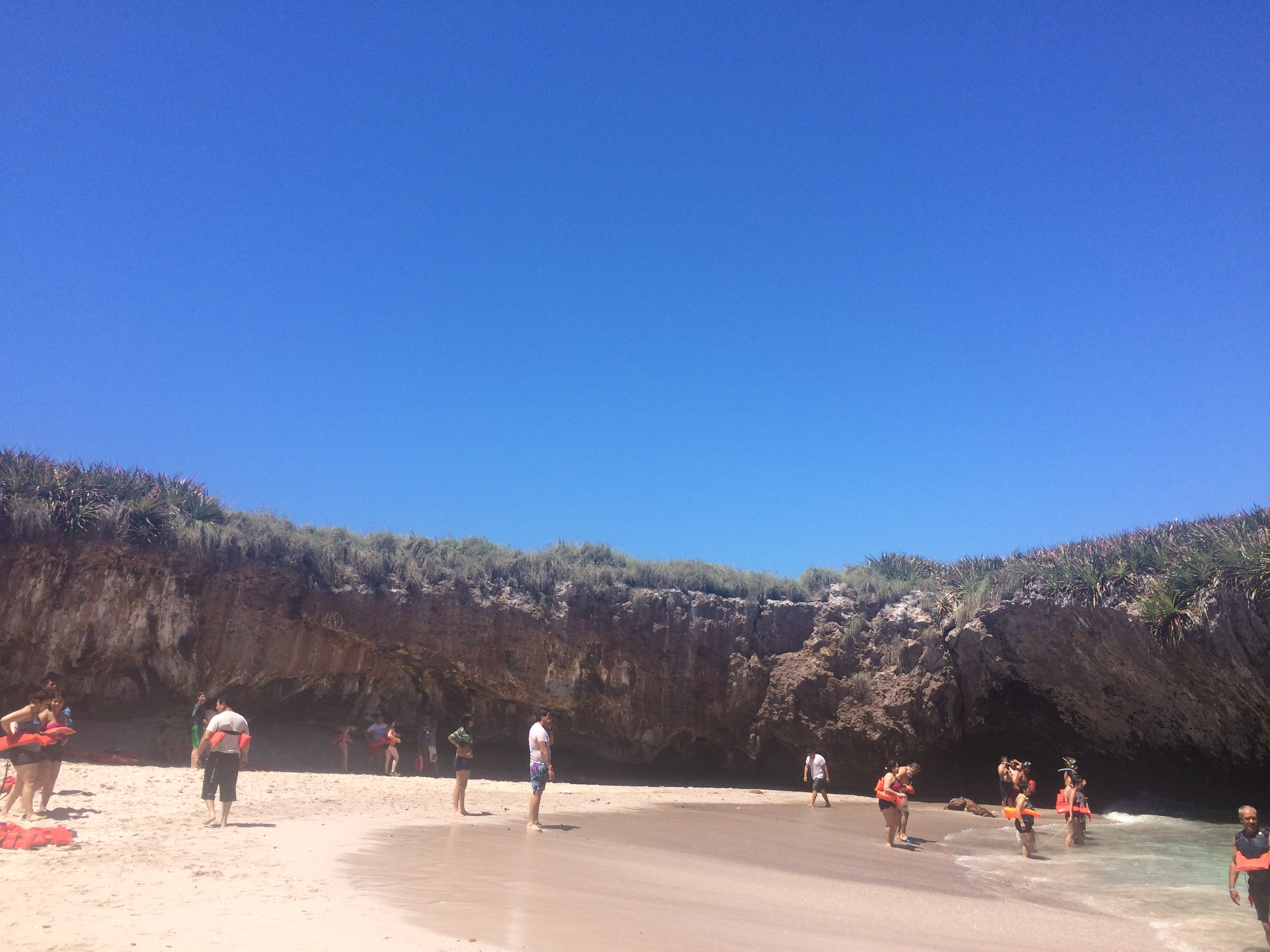 Playa Escondida- Islas Marietas.