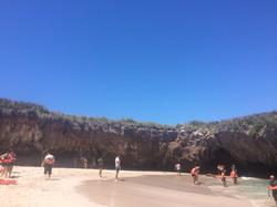Playa Escondida- Islas Marietas.