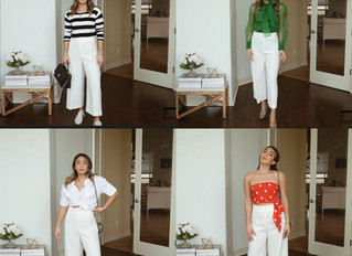 Culottes for Spring: 4 looks same Culottes
