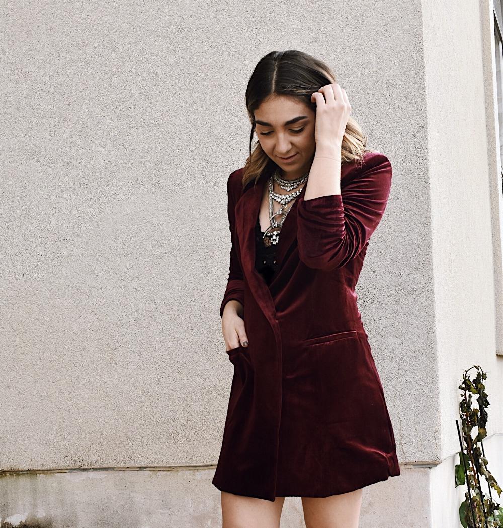 3 ways to wear an oversized blazer