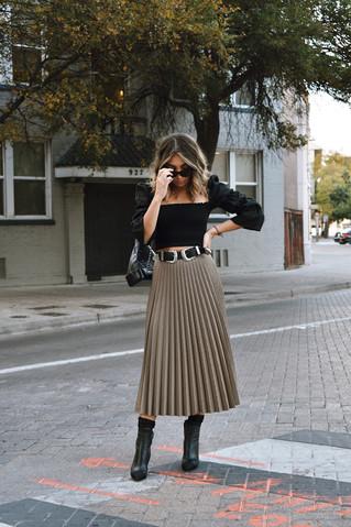 Fall Trend: Midi Skirts