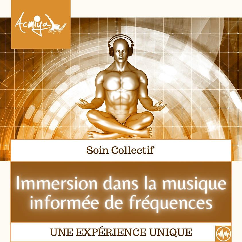"""Soin énergétique collectif """"musiques - fréquences"""" Bioénergie Fréquentielle Acmiya - Manosque"""