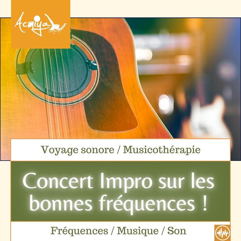 Concert / Voyage Musiques de Soin Acmiya Fréquences à Manosque