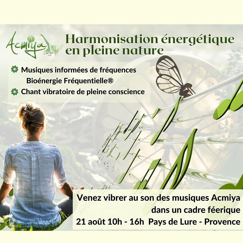 Harmonisation Énergétique En Pleine Nature - Bioénergie Fréquentielle® Acmiya - Notre Dame-De Lure