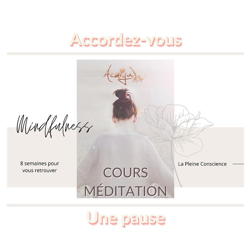 Méditation de pleine conscience & fréquences à Manosque session 1