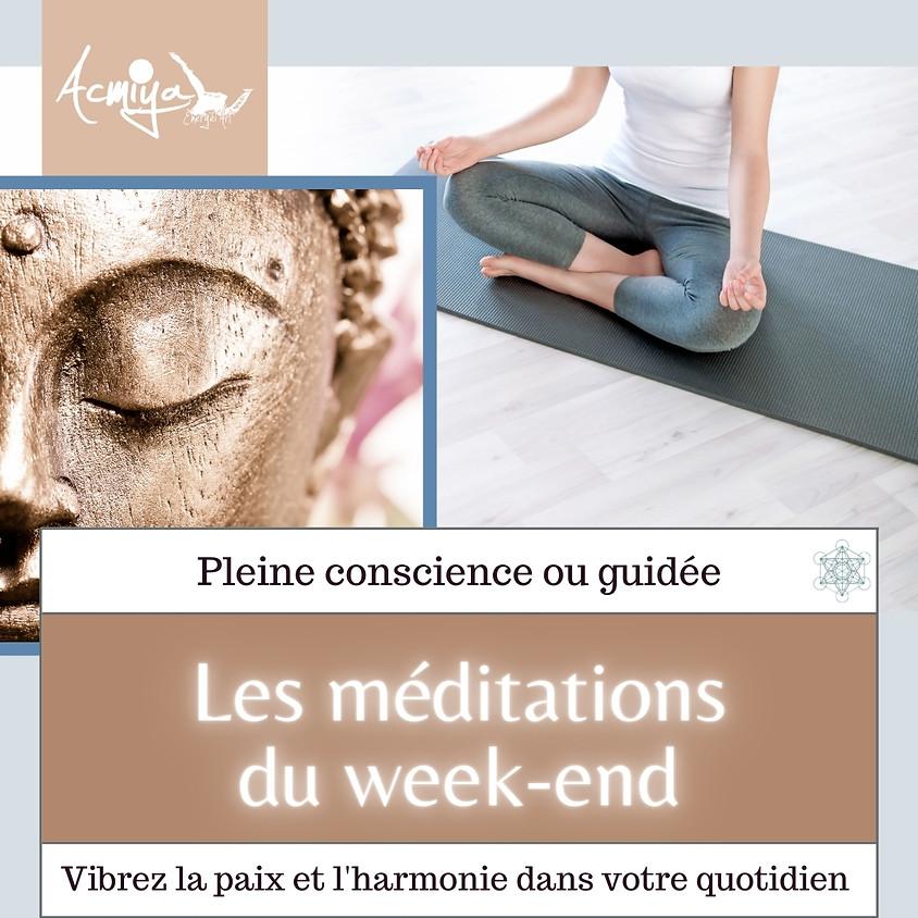 Les méditations du week-end à Manosque avec Acmiya