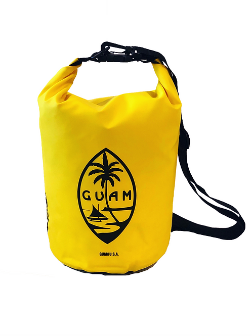 5L Yellow Guam Seal Design DryBag