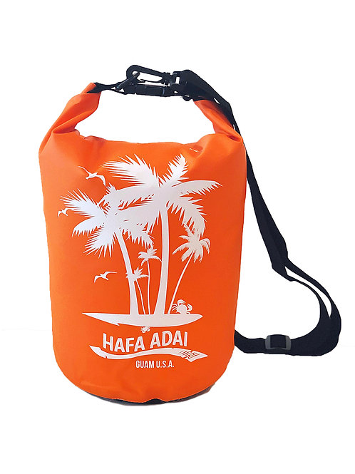 5L Orange Hafa Adai Design DryBag