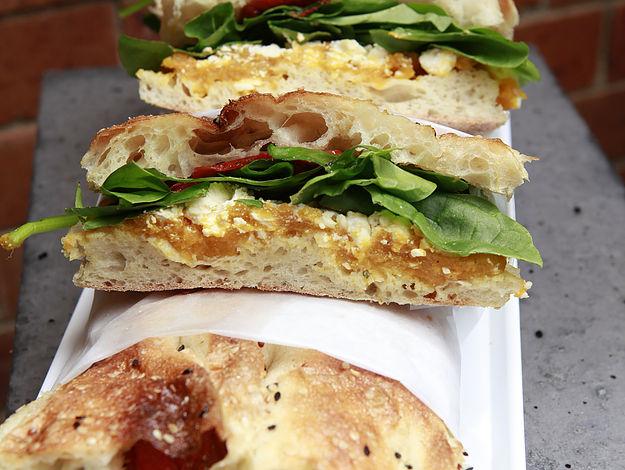 Gourmet Sandwiches on Turkish Bread