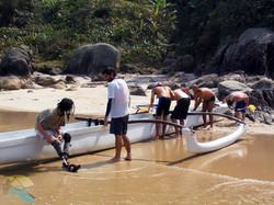 Aulas de canoagem