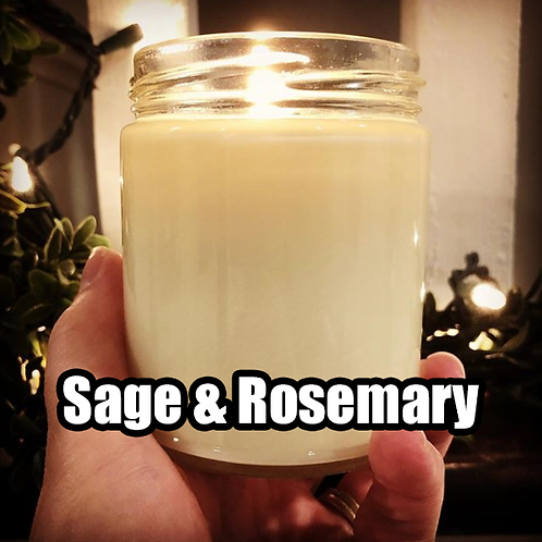 Sage & Rosemary 8 oz Rage Flame