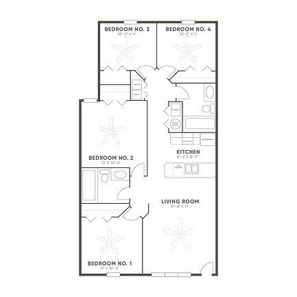 WEST RIDGE 1160 (4 BED)