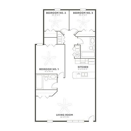 WEST RIDGE 1160 (3 BED)