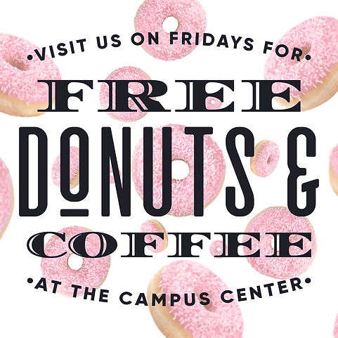 Campus Center Free Donuts.jpg