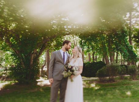 Bohemian Woodend Sanctuary Wedding in Washington D.C.
