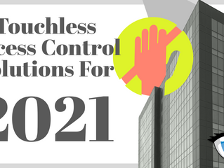Touch-Free Access Control for Healthier Workplaces in 2021