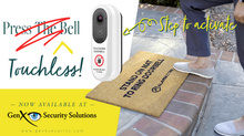 The First Touchless Video Doorbell is Now Available from Alarm.com Through GenX Security Solutions