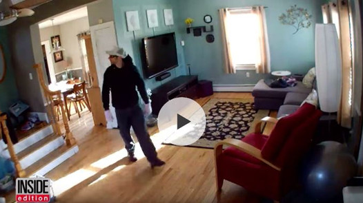 Homeowner Busts Thiefs in Real Time