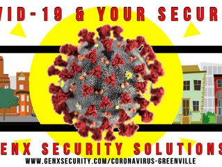 COVID-19 and Your Business and Home Security with GenX Security Greenville