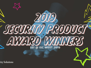 Most Valuable Security Product Awards of 2019 at ISC West