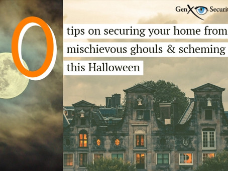 Securing Your Home to Minimize Tricks This Halloween