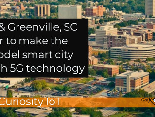 Greenville, SC is First Sprint Curiosity™ 5G IoT Smart City