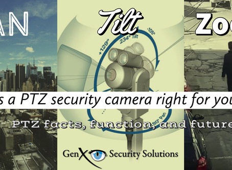 What are PTZ Security Cameras?  PTZ Facts, Function, and Future.