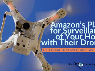 An Amazon Patent to Use Drone Surveillance at Customer Homes