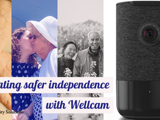 Safer Independent Living for Elderly Loved Ones with Wellcam™