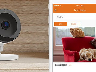 Two-Way Audio Now Available on Alarm.com Indoor Security Cameras
