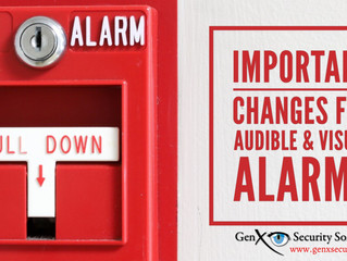 New Changes to Visual and Audible Alarm Notification Requirements