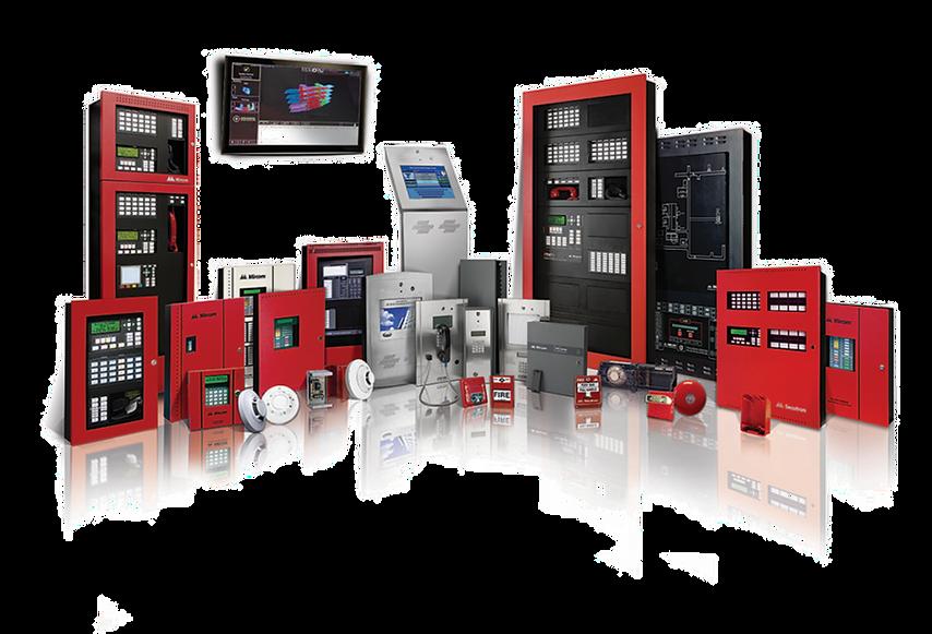 Mircom Complete Fire Alarm Systems Green