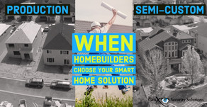 Types of New Homebuilders and Selection of Smart Home Technology