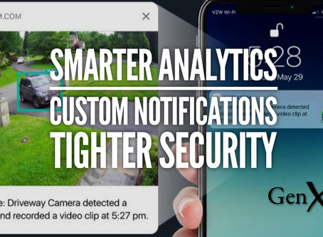 Smarter Security Camera Analytics for Alarm.com Indoor and Outdoor Models