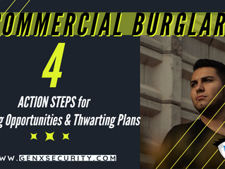 Tighten Your Commercial Security: Action Steps and Intelligent Guarding