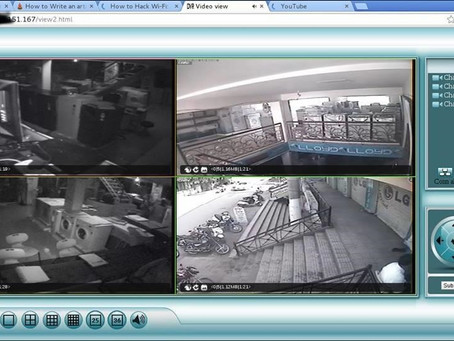 Russian Hackers Assist Cyber-Burglars via Smart-Home Security Cameras