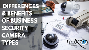 The Differences Between Types of Security Cameras for Business and Commercial Use