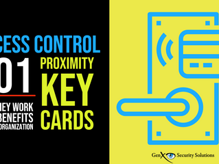 How Access Control Proximity Cards Really Work and Benefit Organizations