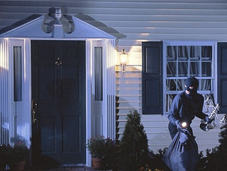 What REALLY are the odds of a burgler breaking in to your home?